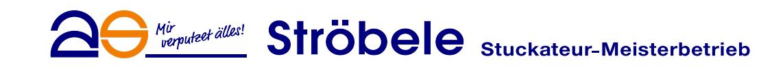 Ströbele Stuckateur Logo
