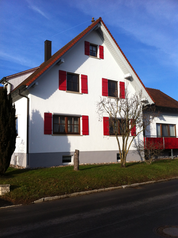 Fassade Tübingen, Rottenburg, Hechingen, Balingen