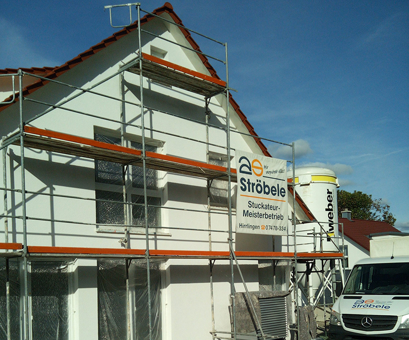 Gerüstbau mit Ströbele in Hirrlingen